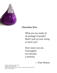 """Chocolate Kiss"" by Fran Nelson"